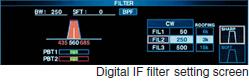 Digital IF filter