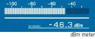 S-meter & dBm meter & dBμ (EMF) meter